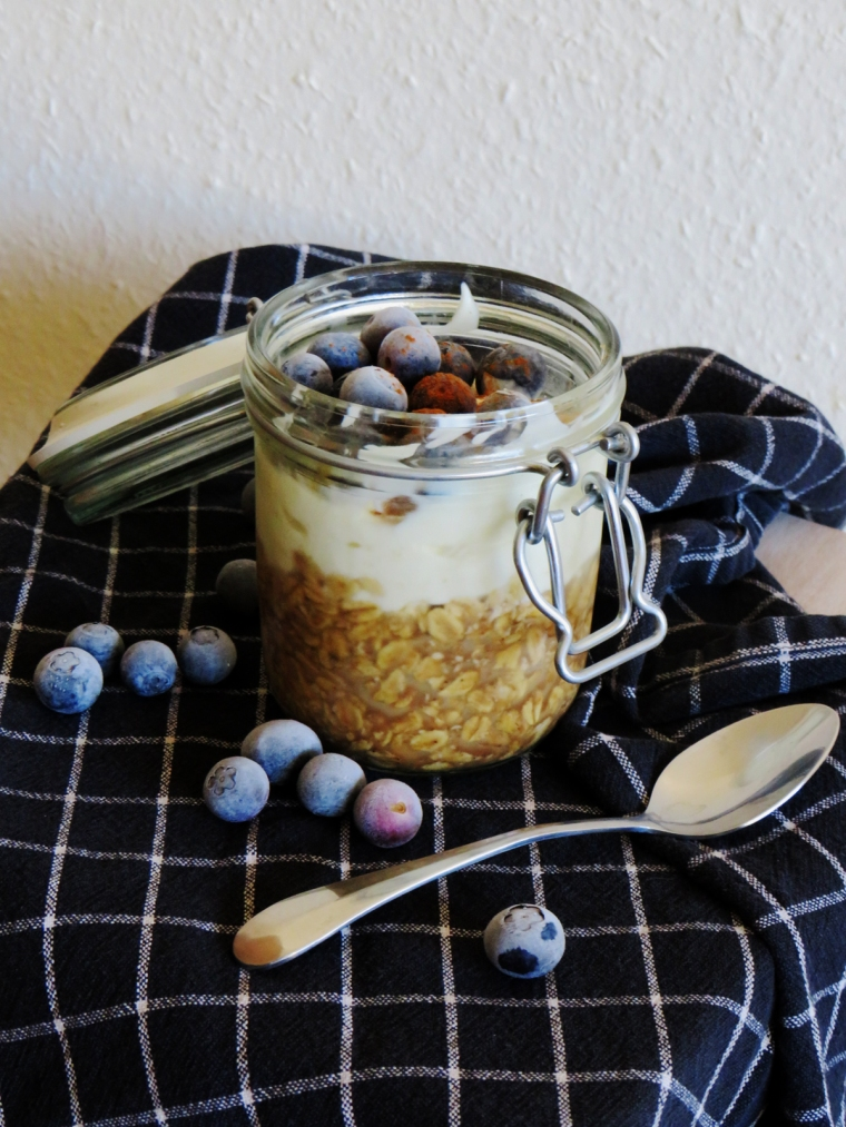 Coconut Coffee Overnight Oats