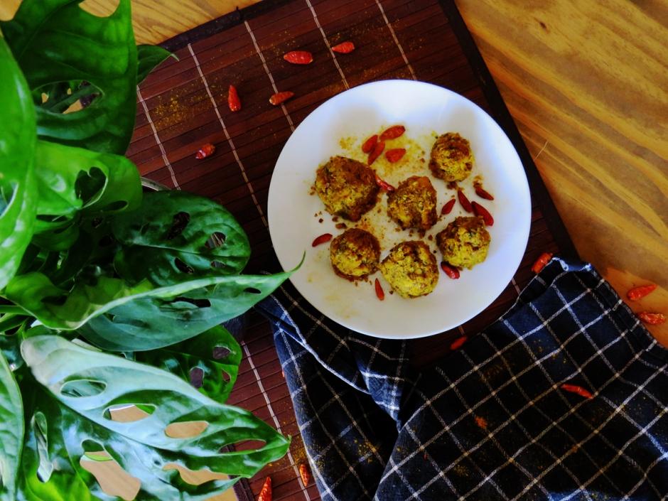 Falafel mit Kurkuma